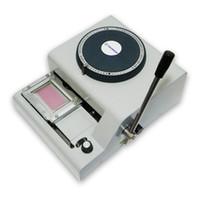 sayılar için makina toptan satış-pvc kart üzerinde Kabartma Numarası Makinesi için PVC Kod Yazıcı