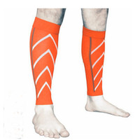 Wholesale knee sleeve sock - 7 Colors Pressure Socks Calf Compression Sleeve Socks For Women & Men Support Running Basketball Calf Sleeve Free DHL G471Q