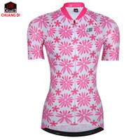 team road ciclismo camisetas mujeres al por mayor-ZM Mujeres Ciclismo Jersey 2018 Pro Team MTB Road Bike Jersey transpirable de secado rápido Bicicleta Jersey Cycle Ropa Ropa Ciclismo