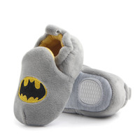 Wholesale Baby Home Shoes - 2017 Autumn Winter Fashion Cartoon Baby Home Shoes Soft Sole Indoor Slippers Infant Crib Shoes