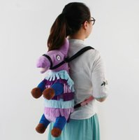 Wholesale best stuffed animals for sale - 55cm Fortnite Llama Plush Bag Backpack Cute Stuffed Animal Toy Figure Doll Best Gifts Plush Backpack KKA5892