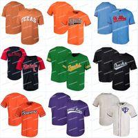 Wholesale baseball jerseys texas resale online - Men Tennessee Volunteers Ole Miss Rebels Jersey Oregon Ducks Oregon State TCU Horned Frogs Texas Longhorns Baseball Jerseys