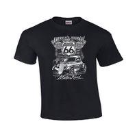 autos route 66 großhandel-Die Mutterstraße, Hot Rod, Route 66, Dragster, US-Autos, T-Shirt # 41 T-Shirts