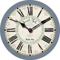 Wholesale Cheap Wood Rounds - Fashion Large Decorative Wall Clock Roman Numerals Modern Design Home Decor Round Antique Retro Wood Clock Cheap