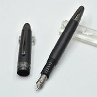 ingrosso nota migliore-Luxury Meistersteks 149 nero opaco classica penna stilografica ufficio affari di cancelleria marca Monte scrivere penne inchiostro per il miglior regalo di Natale
