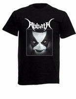 Wholesale loom bands for sale - Abbath Band Black New T Shirt Fruit of the Loom ALL SIZES