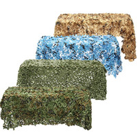 Wholesale camouflage sun shade for sale - Group buy 4mx2m mx2m Hunting Camouflage Nets Woodland Army Camo netting Camping Sun ShelterTent Shade sun shelter