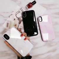 Wholesale Support For Batteries - For iPhone X Battery marble Case 6000mAh Rechargeable External Battery Portable Power Charger Protective Charging Case Support Data Transfer