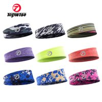 grey tape Canada - Spot wholesale elastic hair belt jogging head with cycling sweat band Yoga cycling Heat transfer tape