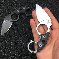 ingrosso coltelli hubertus-Watchman Claw Karambit Fixed Lama Neck coltello Tactical Caccia Survival EDC Tool Collection Vendita della fabbrica MH187-B