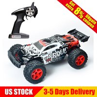 Wholesale rc electric buggy - 1 12 2.4G 4WD High Speed 35km h Off-Road Partial Waterproof RC Car High Speed Desert Buggy Remote Control Car