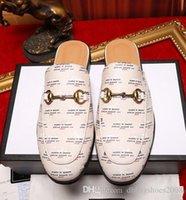 caixa dh venda por atacado-Marca quente chinelos Men Hot moda sapatos de couro genuíno Sandálias Homem Sapatos de qualidade superior com tamanho da caixa 38-46 dh