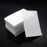 Hot selling 900 Pcs lot Lint-Free Napkins 100%Cotton Nail Polish Remover pads Nail Design Manicure Wipes