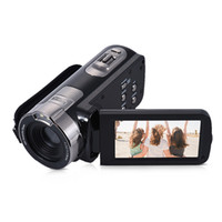 hd gizli ev kamera toptan satış-Full HD 1080 P Dijital Video Kamera 3.0 Inç LCD Ekran 24MP 16X Dijital Zoom Anti-shake DV Kamera Kamera