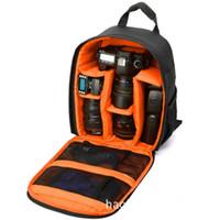 dslr digitalkameras großhandel-Multifunktionale Kamera Rucksack Video Digital DSLR Tasche Wasserdichte Outdoor Kamera Foto Tasche für DSLR