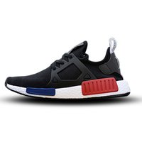 Wholesale skull womens - 2017 NMD XR1 III Running Shoes Mastermind Japan Skull Fall Olive green Glitch Black White Blue Camo Pack men womens sports shoes 36-44