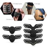 Wholesale slim fit massager for sale - Group buy Abdominal Muscle Trainer body Massager Fit Training Fitness Toner Belly Leg Arm Exercise Health Muscles Loss Slimming Massager