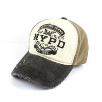 de34506506d New Fashion Street Cap 100% Cotton Retro Baseball Caps Frayed Washed Ball  Cap Curved Brim Sport Couple Hat Brand Designer Leisure Hats