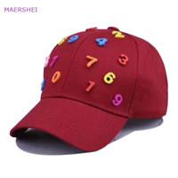 248b0135104 MAERSHEI Children s Snapback Baseball Cap Colorful Digital Fashion Casual Kids  Hats Casquette Bones Hip-Hop Boys Girls Tide