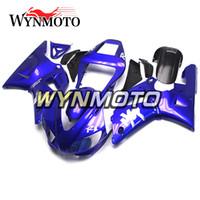 Wholesale custom fairing kits for yamaha for sale - Group buy Free Custom Made Bodywork ABS Plastics Full Fairings For Yamaha YZF R1 YZF1000 Body Kits Motorcycles Blue Black Covers