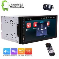 Wholesale sat nav stereo for sale - Back up Camera Eincar Android Car Radio Double Din Stereo in Dash Touch Screen Capacitive Quad Core GPS Sat Nav Bluetooth RDS SD