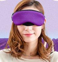ücretsiz uyku göz maskesi toptan satış-Aromatik Buhar Göz Maskesi Koyu daire Anti-Şişlik Sıkılaştırıcı Eyepouch Kaldır Derin ve rahat uyku ÜCRETSIZ KARGO