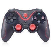 Wholesale receiver game - GEN GAME S5 Wireless Bluetooth Gamepad Remote Control Joystick PC Game Controller for Smartphone Tablet with Holder Receiver