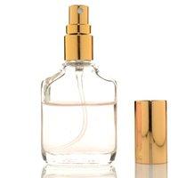 ingrosso bottiglie a spruzzo olio essenziale di vetro-Fiala di vetro della bottiglia dello spruzzatore 10ml per i contenitori cosmetici del liquido delle bottiglie dello spruzzo del profumo dell'olio essenziale TRASPORTO VELOCE F1183