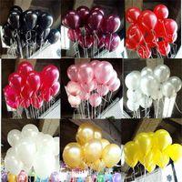 globos para bodas de color al por mayor-2.2g Globos Decorativos 15 Colores Inflables Decoraciones de Boda Bola de Aire Suministros de Fiesta de Cumpleaños Feliz Globo Juguetes para Niños