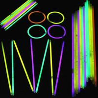 Wholesale multi color bulbs for sale - Group buy Multi Color Glow Stick Bracelet Necklaces Neon Party LED Flashing Light Sticks Wand Novelty Toy LED Vocal Concert LED Flash Sticks