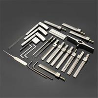 fähigkeiten werkzeuge großhandel-Das Tinfoil Open-Lock-Werkzeug der Generation HUK 10 ermöglicht die Herstellung vorgefertigter Eindrückschlüssel mit Vertiefungen in einfachen Schritten ohne tiefes Geschick