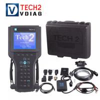 gm tech2 saab venda por atacado-Para GM TECH2 scanner conjunto Completo ferramenta de diagnóstico Para Vetronix gm tech 2 com interface candi gm tech2 com caixa frete grátis