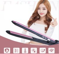 Wholesale tourmaline products - new products High Quality Tourmaline Ceramic Hair Straighteners Hair Curlers Hair Care & Salon Supplies Free Shipping