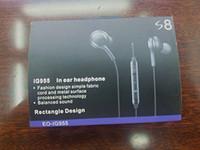 ingrosso cuffie ad alta volume-Per auricolari s8 auricolari di alta qualità Auricolari per Samsung Galaxy S7 S6 S8 più cuffie da 3,5 mm in cuffia auricolare con controllo del volume vendita
