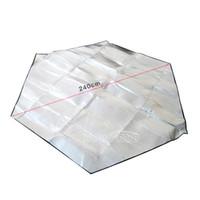тканевые маркизы оптовых-Открытый влагостойкий Ева палатка коврики кемпинг Земли ткань козырек от Солнца тент складной пляж мат пикник мат Бесплатная доставка