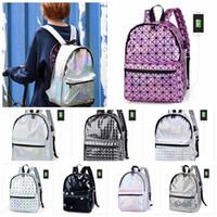 Wholesale hot sale laptops online - Women Backpack With USB Charge laptop Hologram Laser Women Backpack Hot Sale Backpacks For Teenage Girls BBA91