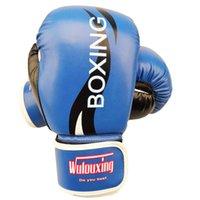 kostenlos mma gang großhandel-3 Farben erhältlich hochwertige Kunstleder Boxing-Box MMA tritt Erwachsenen Boxen Training freie Größe Boxhandschuhe