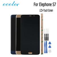 mobile ersatzwerkzeuge großhandel-ocolor Elephone S7 LCD Display und Touchscreen Montage Bildschirm Digitizer Ersatzwerkzeuge für Elephone S7 Mobile Zubehör