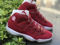 Wholesale Womens Chinese - Wholesale 2018 Jan 18 Air 11 Basketball Shoes Retro 11s Chinese New Year Mens Womens Basketbol Sneakers with Chinese Knot The Remade