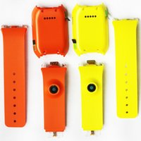 cor da carcaça traseira venda por atacado-Duas cores orange e verde new original relógio banda strap back habitação pulseira para samsung gear sm-v700