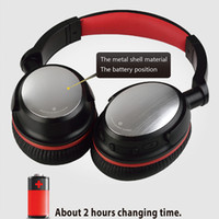 beste ohr drahtlose bluetooth kopfhörer groihandel-Beste drahtlose Kopfhörer 2018 neue Bluetooth-Headset Auto-Mute Auto Power-Off-Sport-Kopfhörer Faltbare Bluetooth über Ohr Kopfhörer