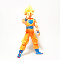Wholesale toy garage kits - Dragon Ball Series Action Figure For Children Sun Wukong Super Siah Character Garage Kit Figures Model Toy Hot Anime Periphery 41sb WW