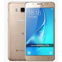 Wholesale cell phone smart 13mp resale online - Refurbished Original Samsung Galaxy J7 J710F Single SIM inch Octa Core GB RAM GB ROM MP G LTE Smart Cell Phone Free DHL