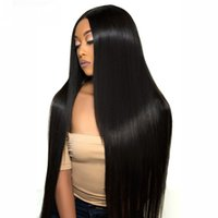 Wholesale Perstar Human Hair Lace Frontal Wigs Brazilian Straight Lace Front Wig Pre Plucked with Baby Hair Remy Hair Inch