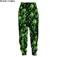 harem harem unisex оптовых-Newest Hip Hop Style Men women long Pants 3D print Skull Casual Loose Harem Sweatpants Funny Unisex Trousers Brand Clothing