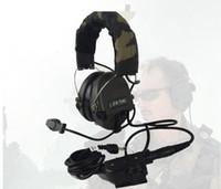 auriculares airsoft al por mayor-Z-TAC Airsoft Element Z Auriculares tácticos Softair Peltor Sordin Auricular para disparar Arsoft IPSC Auriculares de caza