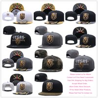 Wholesale drop ship snapback hats - Wholesale Mens Ice Hockey Vegas Golden Knights Snapback Embroidered Adjustable Sport Hip Hop Hats Caps, Mixed Order, Drop Shipping.