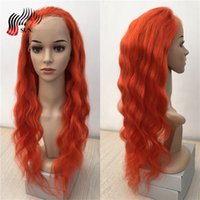 Wholesale cheap celebrity hair online - Brazilian Hair Wig cheap Human Hair Lace Wig Celebrity fashion Full Lace Colored Wig Red Human Hair Lace Wigs to inch