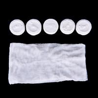 mini komprimiertes handtuch großhandel-20pc tragbare Reise Baumwolle komprimierte Handtuch Mini Gesichtspflege Magie Handtuch für Outdoor-Sport Tracvel