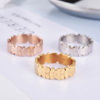 Wholesale O Rings Jewelry - 2018 New Factory Design O Urso Anillo Stainless Women hollow panda Rings Size 6.7.8.9 Cute hollow Rings good quality no fade jewelry 3 style